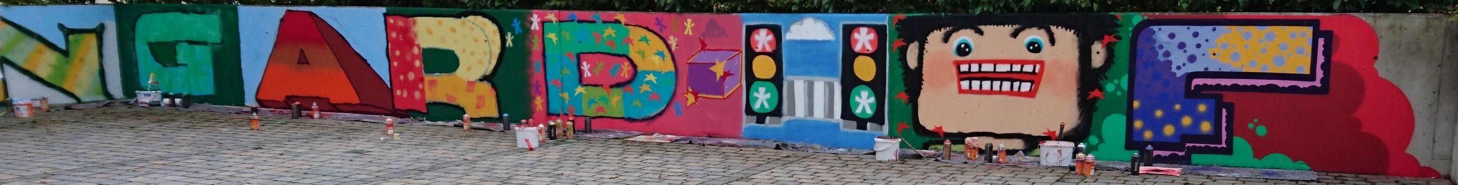 Ausschnitt Graffiti